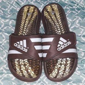 Adidas velcro slide sandals